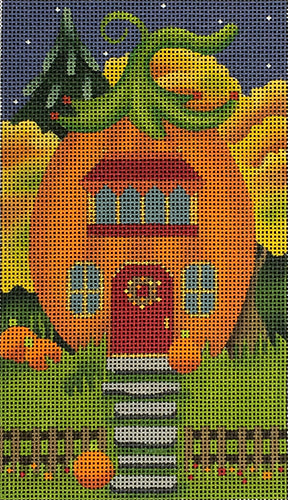 Red Door Pumpkin House