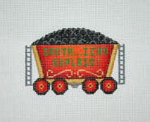 Christmas Ornament / Train / Coal Car