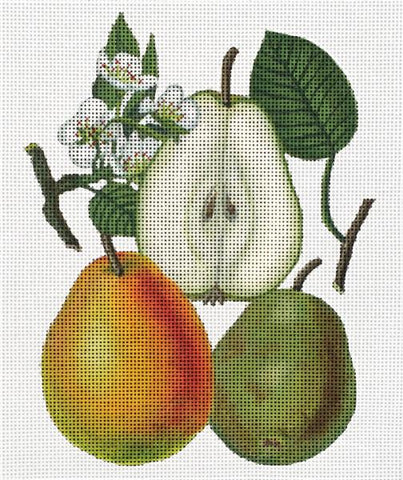 Vintage Fruit: Pears
