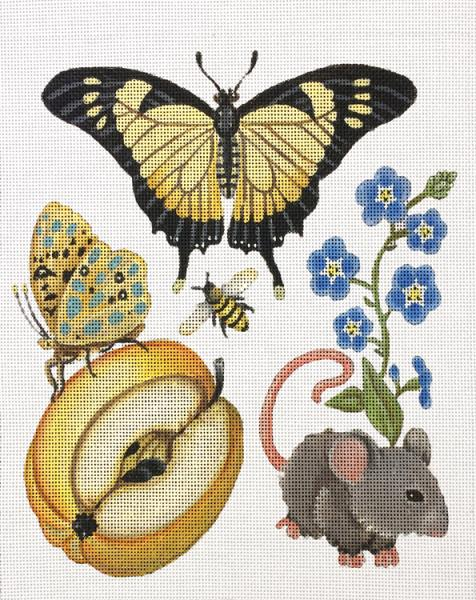 Botanicals - Butterfly w/Mouse