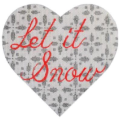Let-it-snow Heart 18M