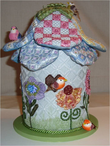 3D Flower Birdhouse