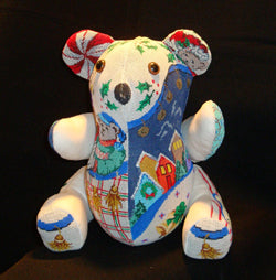 "3-dim. Bear Christmas, ""Holly"" 2839"