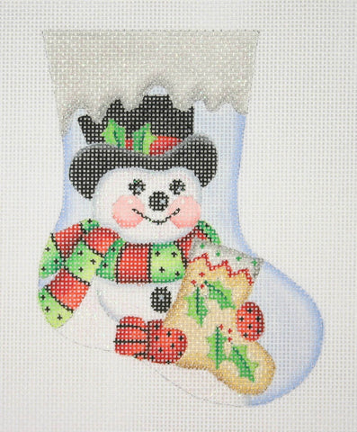 Mini-Sock / Snowman with Sock