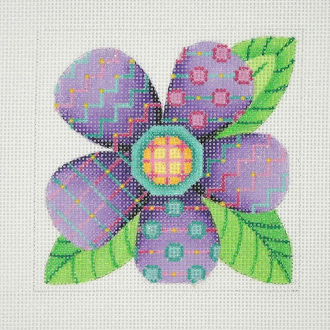 Patterned Florals - Single Purple BB 3094