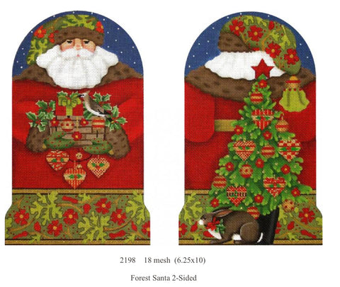 Forest Santa 2-Sided