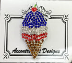 #54 Patriotic Ice cream Cone
