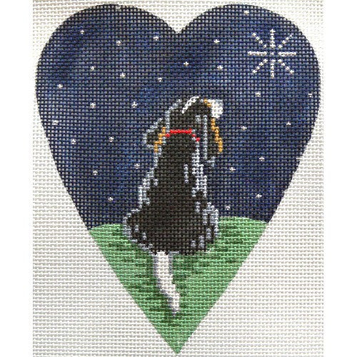 King Charles Spaniel Midnight Heart