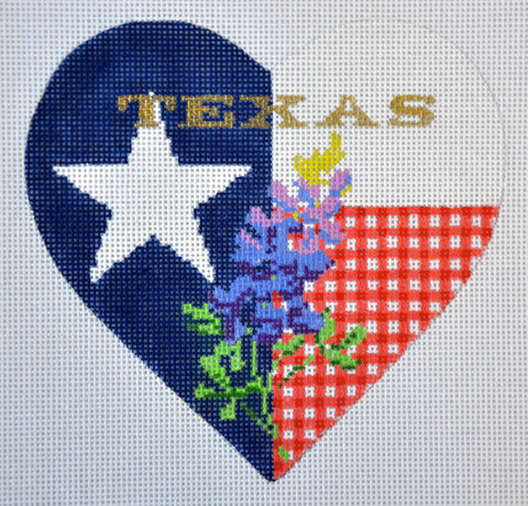 Bluebonnet Heart