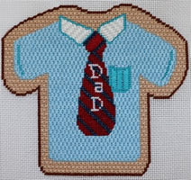 """Father'S Day"" Shirt And Tie Cookie ab443"