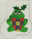 Patchy Frog Mini-Sock ab187