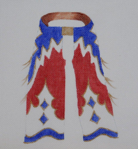 4th of July Chaps - BeStitched Needlepoint