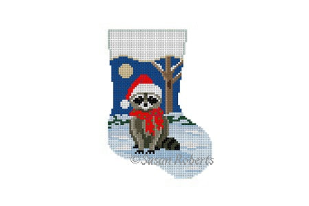 5460 - Night Raccoon, mini stocking
