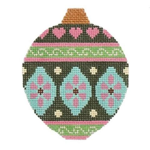 Pink/Green Ornament