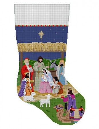 Nativity Stable, stocking 3239