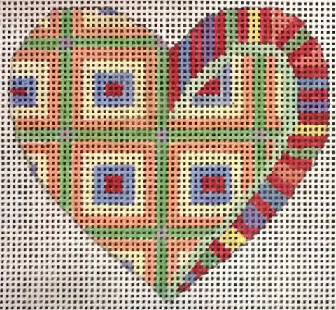 Penny Macleod:PM238 HEART ORNAMENT