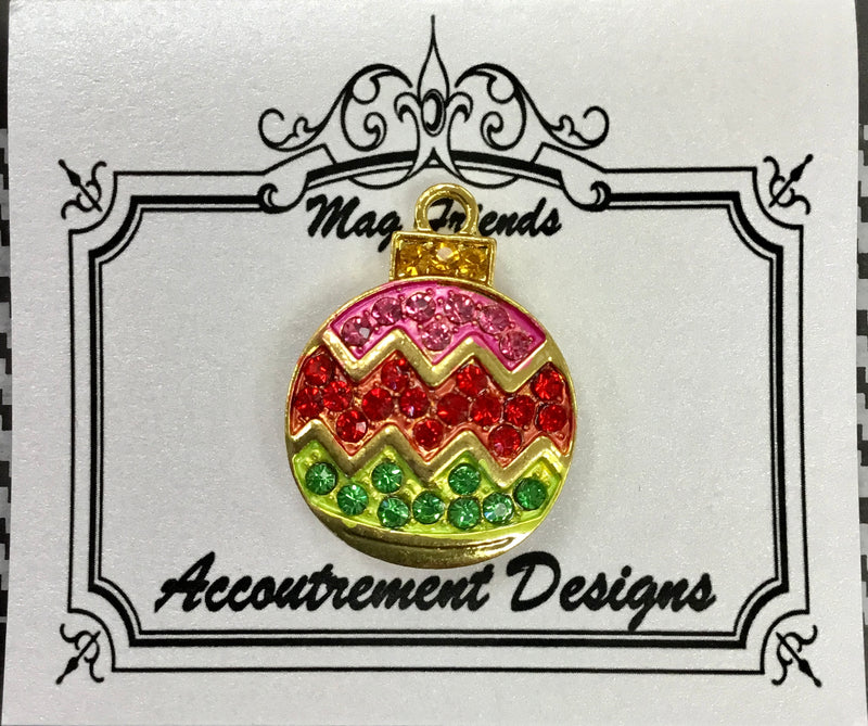 #64 Christmas Ornament jeweled