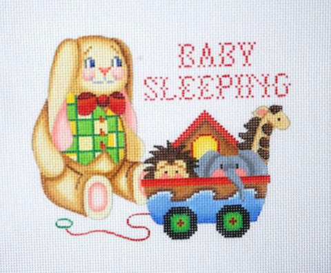 Baby Sleeping Sign - Rabbit BB 6012