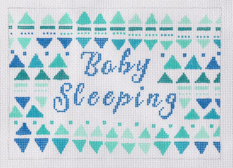 Baby Sleeping- Blue