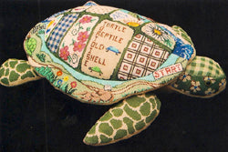 "3-D turtle, patchwork, ""Bobby"" 6200"
