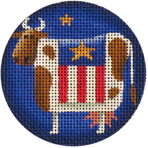 Patriotic Club - BeStitched Needlepoint