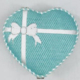 Tiffany Inspired Heart Hinged Box with Hardware