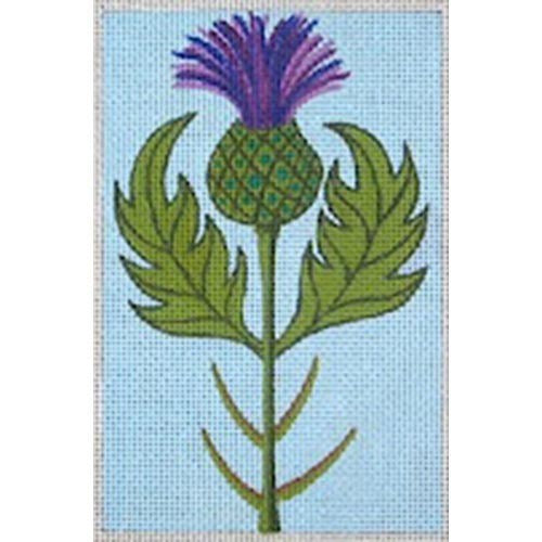 Thistle with Robin King stitch guide