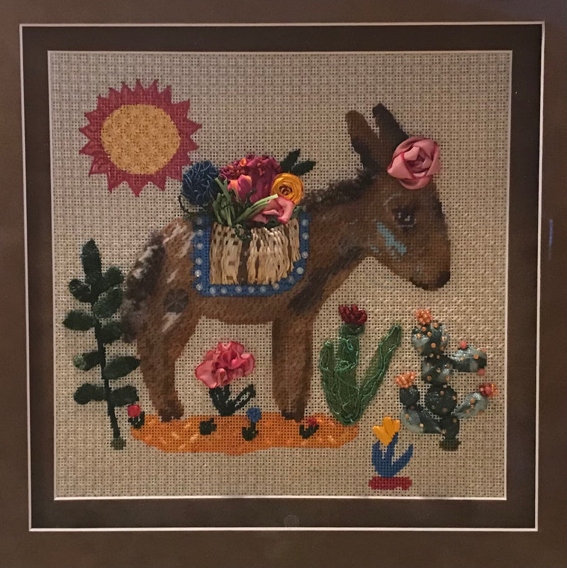 Stitch Guide for Sweet Mule, Canvas by Kate Dickerson