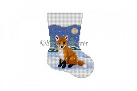 Baby Fox, mini stocking   5457