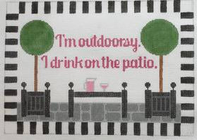 Im outdoorsy…patio