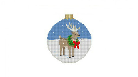 Reindeer In Wreath   7204