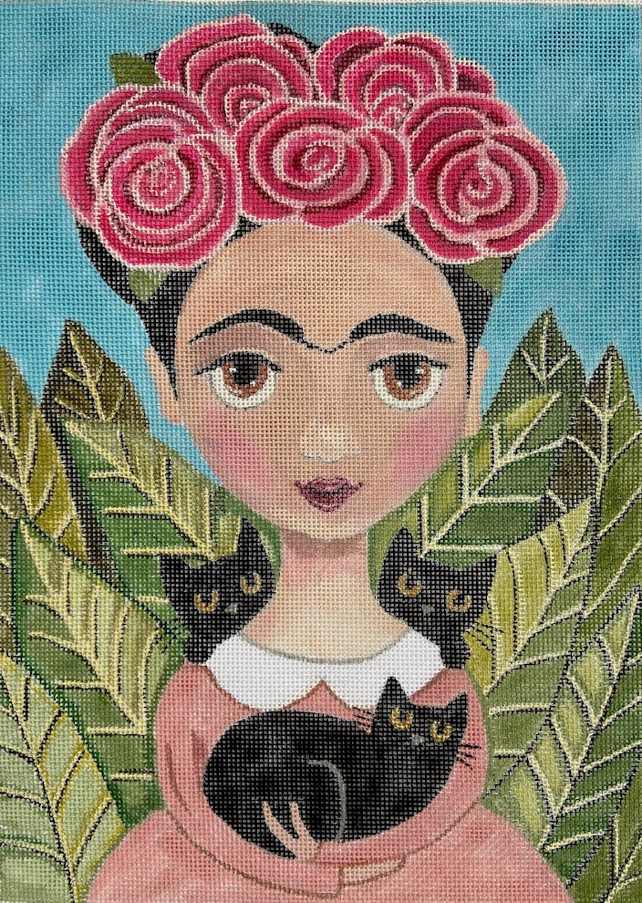 8517 Frida & Her Black Cats