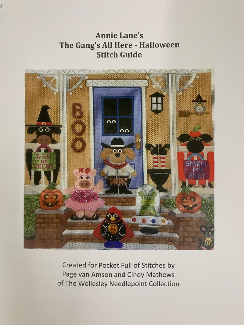 The Gang's All Here - Halloween Stitch Guide