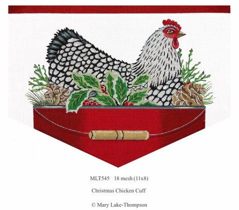 Christmas Chicken Cuff MLT545