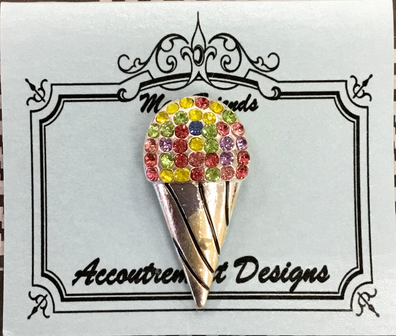 #45 Jeweled Icecream Cone