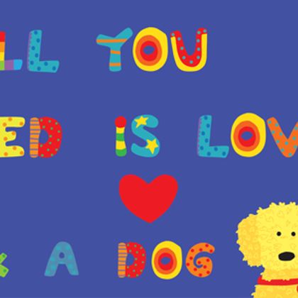 All You Need Is Love and a Dog (TC-T-404-18)