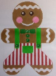 Gingerbread Boy Red & Green