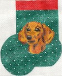 Dachshund Mini Sock ab337