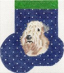 Wheaten Terrier Mini Sock ab392