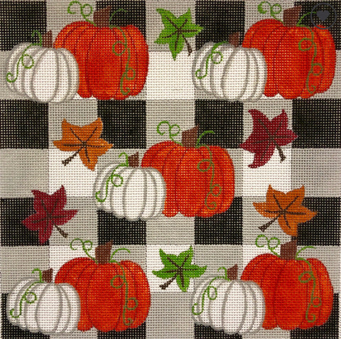 Pumpkins on Checks