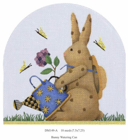Easter Bunnies - Watering Can Bunny