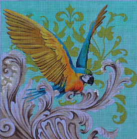 Parrot - BeStitched Needlepoint