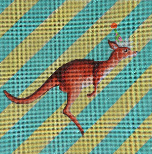 Kangaroo - BeStitched Needlepoint