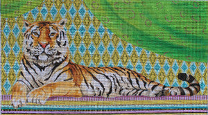 Vintage Tiger - BeStitched Needlepoint