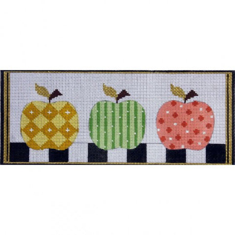 Patterned Apples