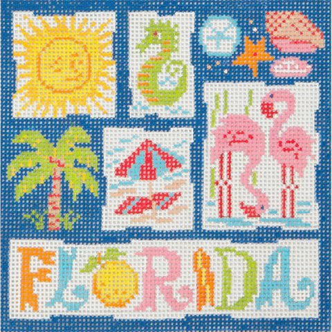 Small Florida Retro