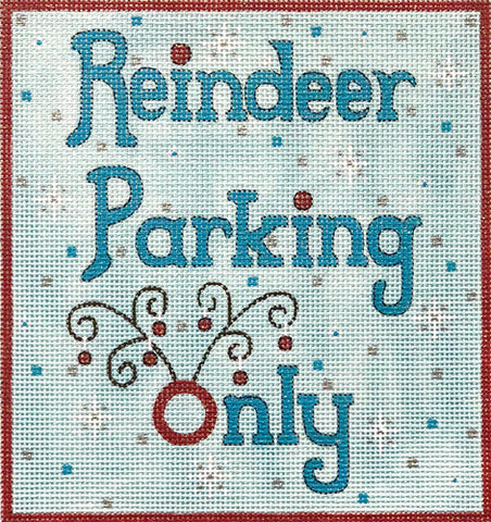 Reindeer Parking Only