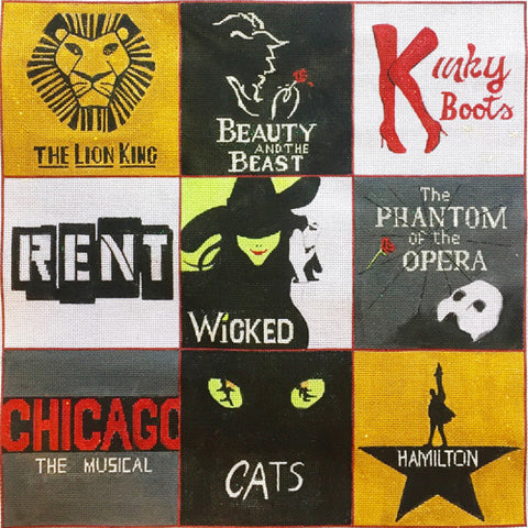 Playbill Collage