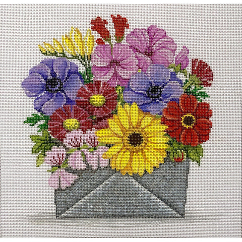 Envelope Full of Flowers