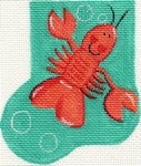 Larry The Lobster Mini-Sock ab38